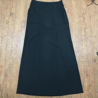 ビーシービージーマックスアズリア(BCBGMAXAZRIA)のBCBGスリットスカート(ロングスカート)