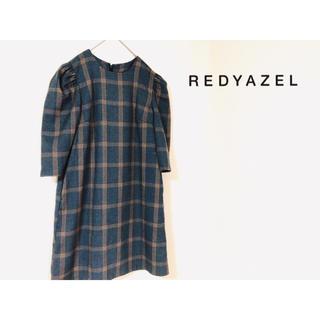 レディアゼル(REDYAZEL)のREDYAZEL ワンピース チェック(ミニワンピース)