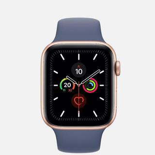アップルウォッチ(Apple Watch)の❤️ピンクゴールド series5 GPS + Cellularモデル (腕時計(デジタル))