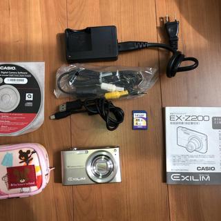 カシオ(CASIO)のCASIO EXILIM EX-Z200 (コンパクトデジタルカメラ)