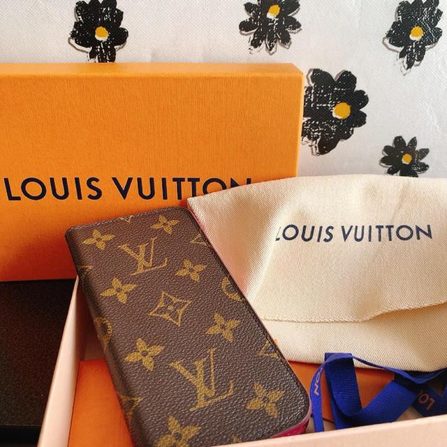 LOUIS VUITTON - LOUIS VUITTON ルイ・ヴィトン iPhoneケースの通販