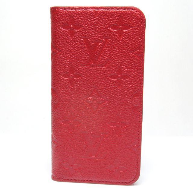 gucci アイフォーン8plus カバー 海外 | LOUIS VUITTON - ヴィトン アンプラント フィリオ 赤 レザー モノグラム iPhone X XSの通販