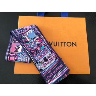 ルイヴィトン(LOUIS VUITTON)の専用 ルイヴィトン  スカーフ  美品 限定色(スカーフ)