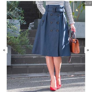 アナップ(ANAP)のANAP トレンチ風スカート(ひざ丈スカート)