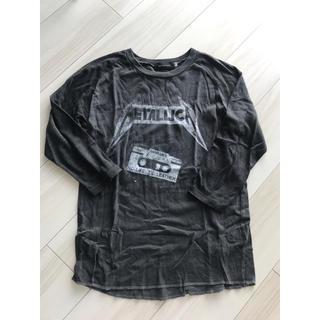 スピックアンドスパン(Spick and Span)のmetallica ラグランTシャツ 値下げ 格安(Tシャツ/カットソー(七分/長袖))