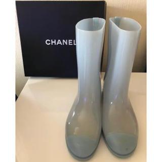 シャネル(CHANEL)のCHANELレインブーツ(レインブーツ/長靴)