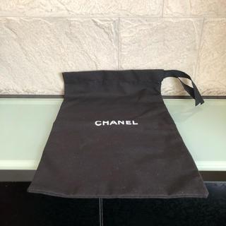 シャネル(CHANEL)の【新品・未使用】CHANEL 靴袋 シューズバッグ 巾着(その他)