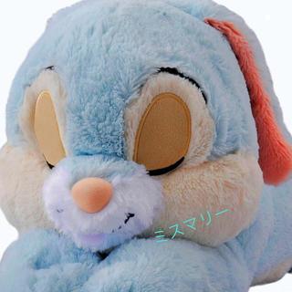 ディズニー(Disney)のパーク内完売 ディズニーイースター とんすけ 抱き枕 フワフワもふもふだきまくら(キャラクターグッズ)