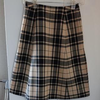 Yorkland - ベ-ジュ×黒スカート 11AR新品