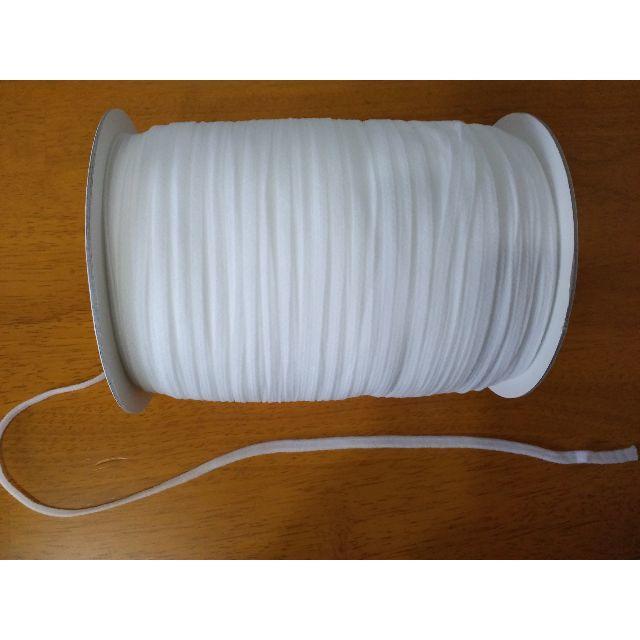 ガーゼマスクの作り方手縫い - ウーリースピンテープ 5M マスクゴム オフ白の通販