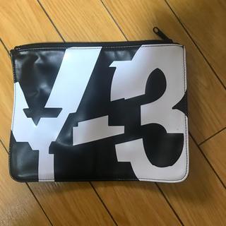 ヨウジヤマモト(Yohji Yamamoto)のY-3 クラッチバッグ(セカンドバッグ/クラッチバッグ)