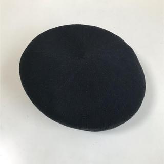 アズールバイマウジー(AZUL by moussy)のAZULbymoussy ベレー帽 (春夏・綿混素材)(ハンチング/ベレー帽)