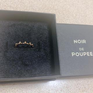 ノジェス(NOJESS)のNOIR DE POUPEE ピンキーリング 3号(リング(指輪))