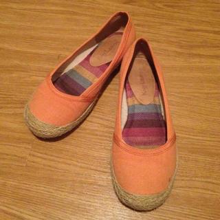 オレンジ♡靴(ハイヒール/パンプス)