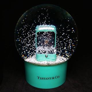 ティファニー(Tiffany & Co.)の★非売品 レア★【Tiffany&Co スノードーム】ティファニー 指輪 ギフト(置物)