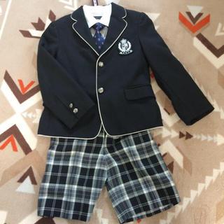 サンカンシオン(3can4on)の入学式に!キッズ男の子120cm(ドレス/フォーマル)