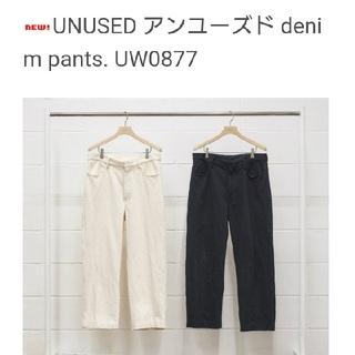 アンユーズド(UNUSED)のunused  cotton pants  (デニム/ジーンズ)