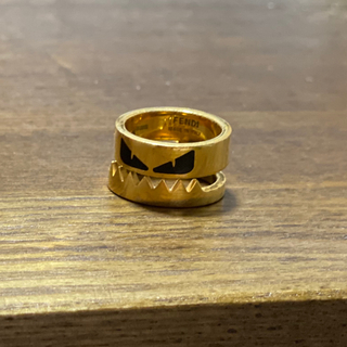 フェンディ(FENDI)のフェンディ リング モンスター 指輪 メンズ Mサイズ(リング(指輪))
