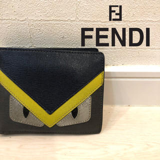 FENDI - 【フェンディ FENDI】財布 モンスター バグズ 折りたたみ 二つ折り