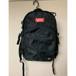 ヴァンズ(VANS)のVans バックパック リュック 黒 BOXロゴ(バッグパック/リュック)