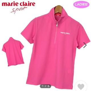 マリクレール(Marie Claire)の新品・タグ付き マリ・クレール ハーフジップ(シャツ/ブラウス(半袖/袖なし))