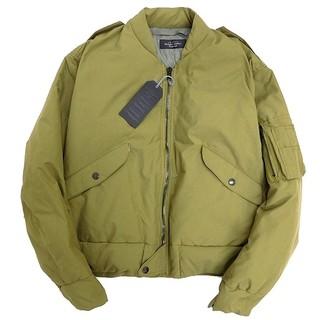 アンユーズド(UNUSED)のunused dawn ma-1 jacket olive thu21(フライトジャケット)