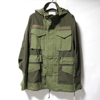 サカイ(sacai)の未使用 20SS sacai ミリタリー ジャケット M-65(ミリタリージャケット)