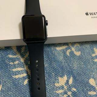 アップルウォッチ(Apple Watch)のアップルウォッチ3 GPSモデル  38ミリ(その他)
