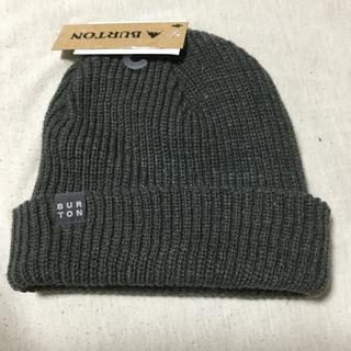 バートン(BURTON)のburton ニット帽 新品未使用(ニット帽/ビーニー)