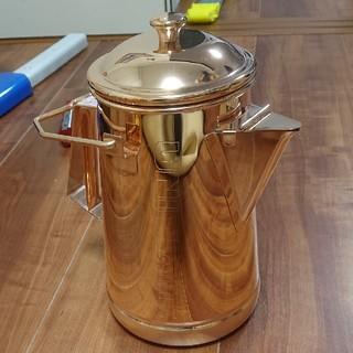 ユニフレーム(UNIFLAME)のユニフレーム キャンプケトル ピンクゴールド(調理器具)