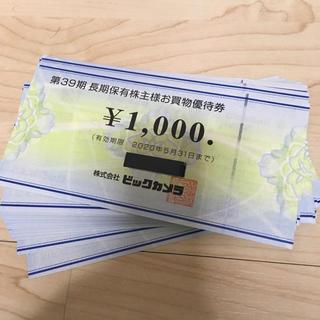 ビックカメラ優待119枚(ショッピング)