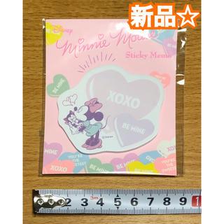 ミニーマウス(ミニーマウス)の新品☆ Disney ミニー ふせん(ノート/メモ帳/ふせん)