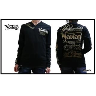 ノートン(Norton)のNorton ノートン 新品8789円→5990円MAXグラデーション刺繍ロンT(Tシャツ/カットソー(七分/長袖))