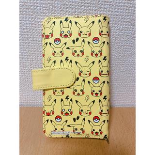 ポケモン(ポケモン)のピカチュウ スマートフォンカバー 他機種対応 手帳タイプ(iPhoneケース)