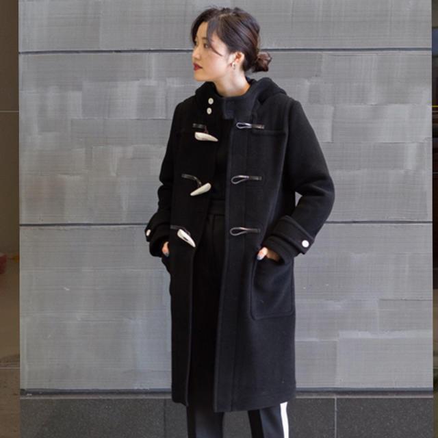 HYKE(ハイク)のハイク ダッフルコート レディースのジャケット/アウター(ダッフルコート)の商品写真