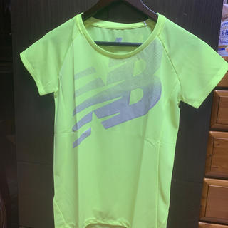 ニューバランス(New Balance)のニューバランス イエロー Tシャツ(Tシャツ(半袖/袖なし))