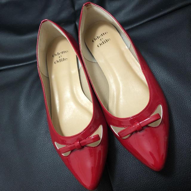 Odette e Odile(オデットエオディール)のオデットエオディールパンプス レディースの靴/シューズ(バレエシューズ)の商品写真