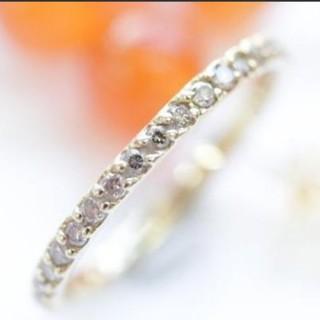断捨離様専用 ダイヤモンド フルエタニティ(リング(指輪))