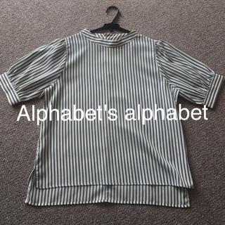 アルファベットアルファベット(Alphabet's Alphabet)のAlphabet's alphabet ブラウス(シャツ/ブラウス(半袖/袖なし))