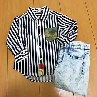 ジャンクストアー(JUNK STORE)のjunkstore 80cmシャツ(シャツ/カットソー)