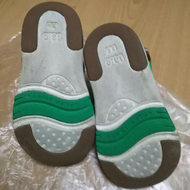 mikihouse(ミキハウス)のミキハウス 13㎝ サンダル キッズ/ベビー/マタニティのベビー靴/シューズ(~14cm)(サンダル)の商品写真