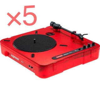 シュプリーム(Supreme)のSupreme Numark PT01 Portable Turntable 5(ターンテーブル)