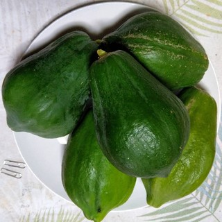 免疫力アップ・健康保持に!沖縄産 青パパイヤ2㎏(野菜)