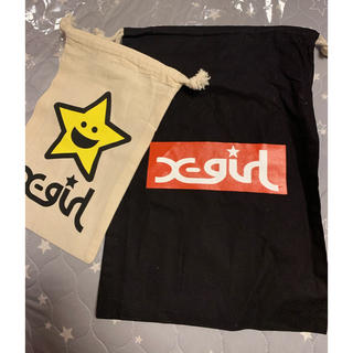エックスガール(X-girl)のX-girl 巾着セット (ポーチ)