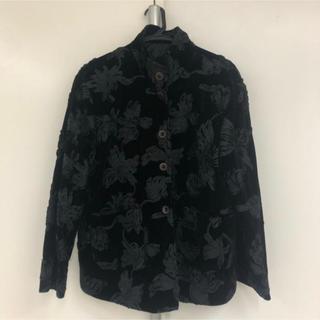 ヨウジヤマモト(Yohji Yamamoto)の花弁ジャケット(ノーカラージャケット)
