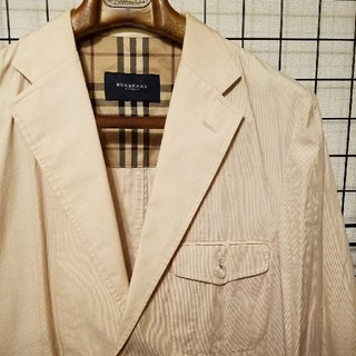 BURBERRY - 日本製 BURBERRY LONDON ノッチドラペル テーラードジャケット