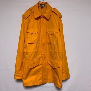 ラルフローレン(Ralph Lauren)のラルフローレン ミリタリー ジャケット ハーフ オレンジ ポリエステル 薄手(ナイロンジャケット)