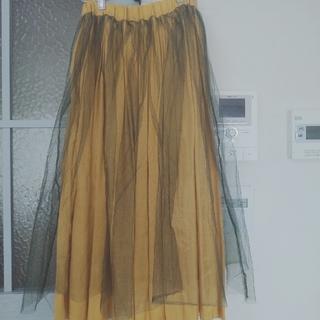 アメリヴィンテージ(Ameri VINTAGE)のAmeri Vintage    tulle Skirt ♡ (ロングスカート)