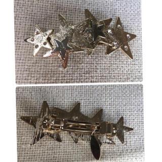 アネモネ(Ane Mone)の星モチーフ 髪飾り ヘアアクセサリー(バレッタ/ヘアクリップ)