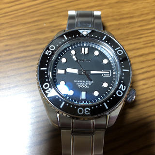 セイコー(SEIKO)のセイコー SBDX001 純正バックル&シャークマスター MM300オマージュ(腕時計(アナログ))